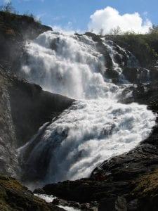 Kjossfossen Waterfall, Norway
