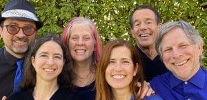 6 Worldsong Ensemble singers